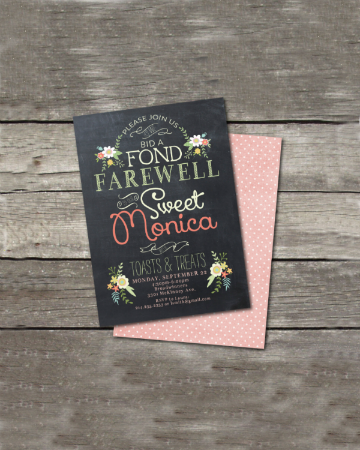 chalkboard farewell invitation design featured imgggg