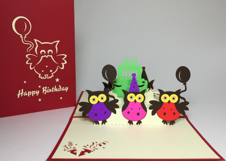 colorful-owl-birthday-cake-pop-up-card