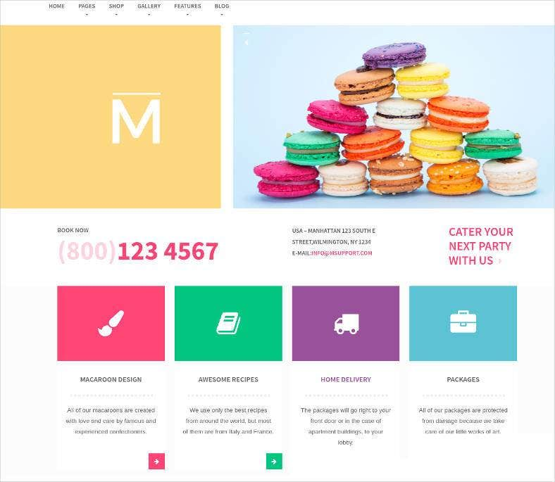 colorful sweet shop woocommerce theme 788x685