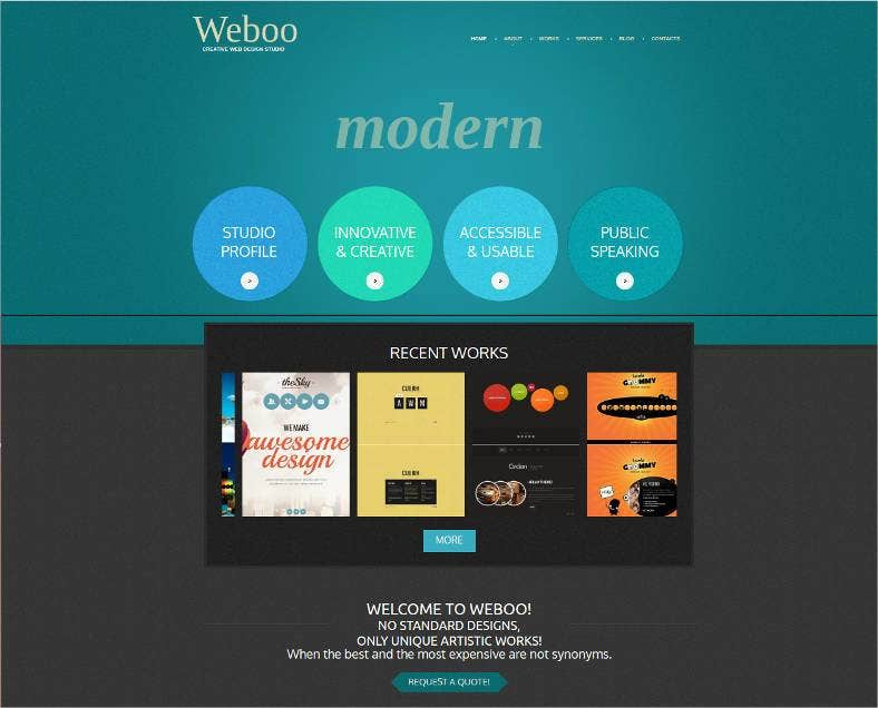 company website developer template 788x636