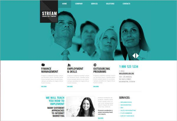 consulting-corporate-company-website-template