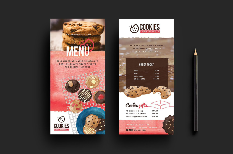 cookie-shop-rack-card-template