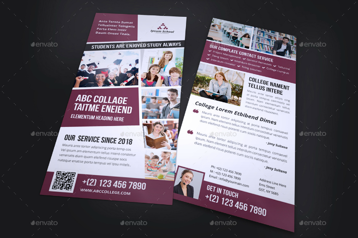 education-in-design-rack-card-template