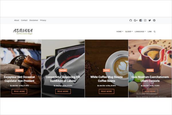elegant responsive blogger theme