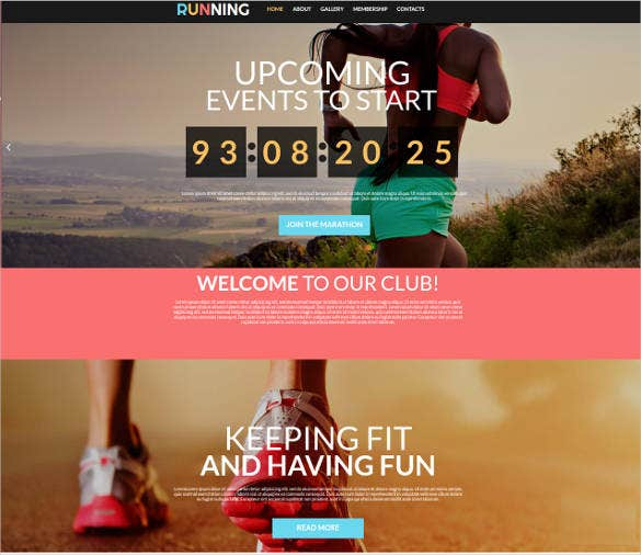 events and sports web theme1