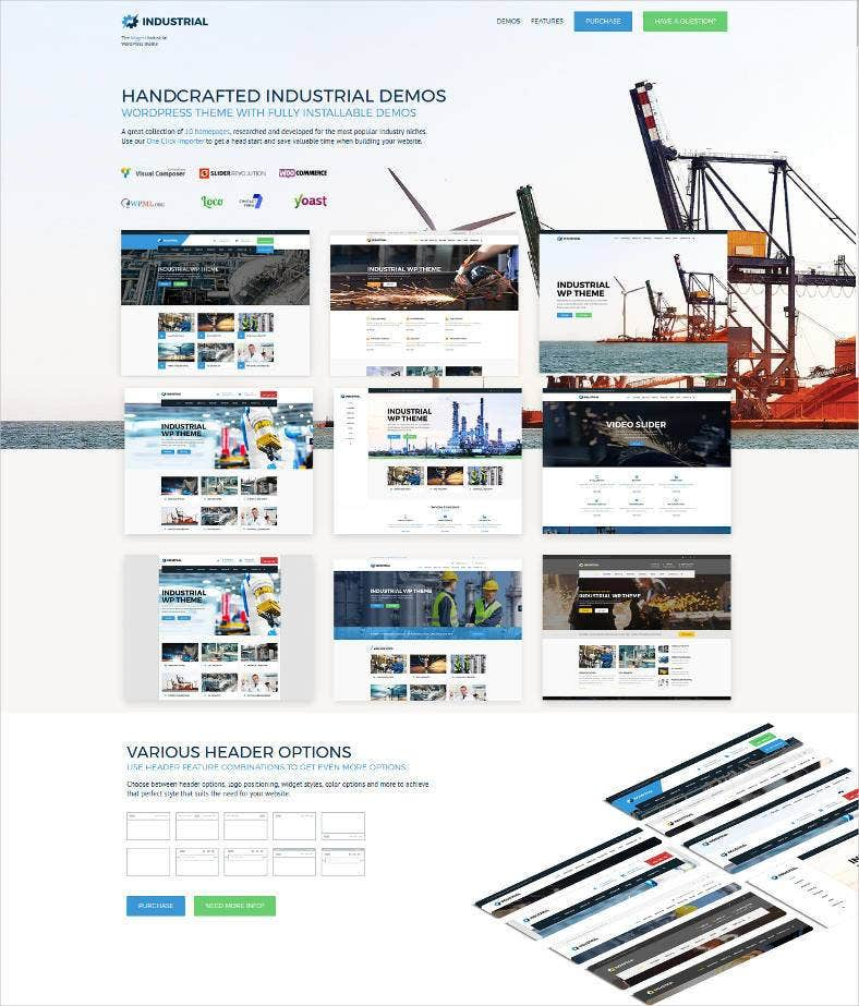 factory industry manufacturing wordpress theme 788x923