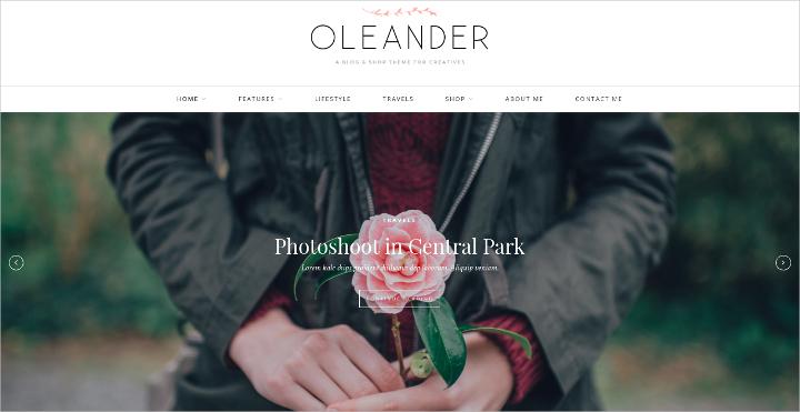 fashion grid blog theme