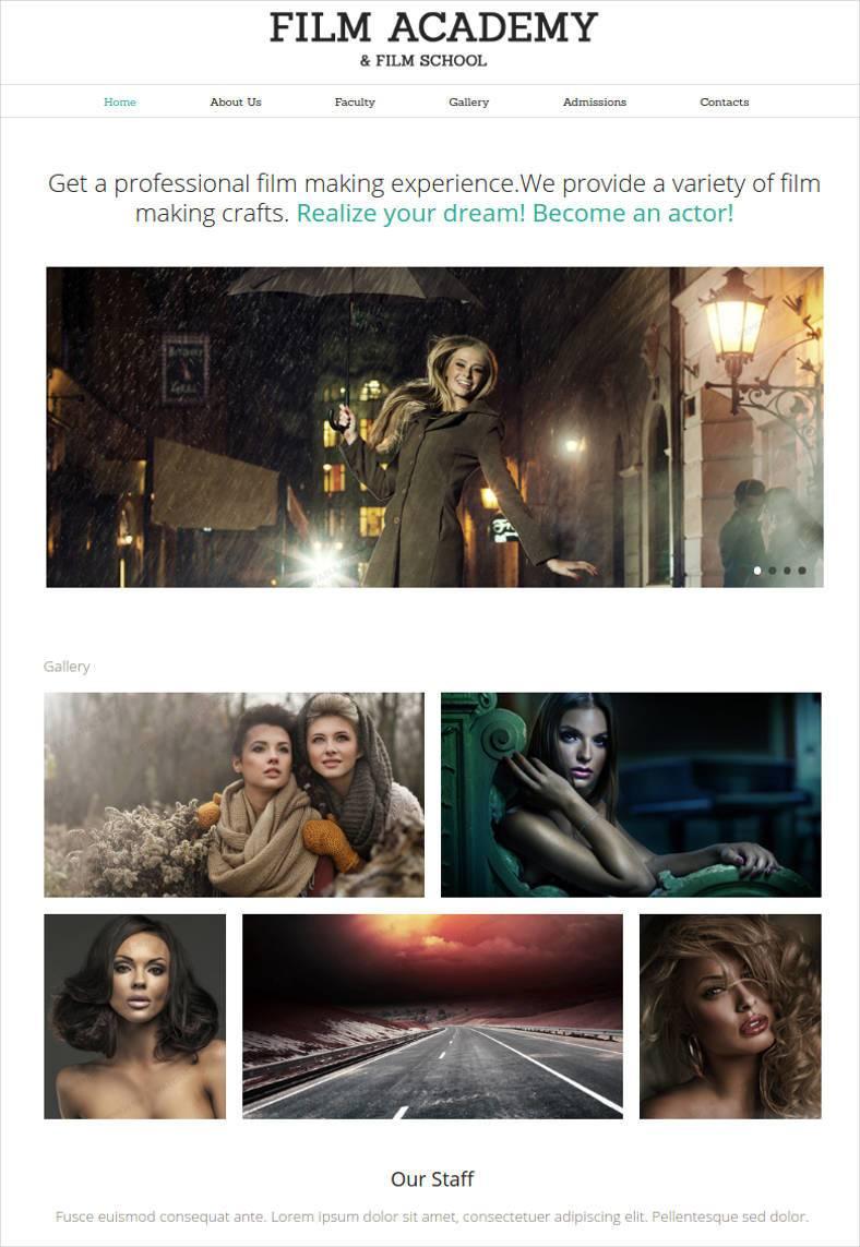 film academy career education responsive website 788x1143