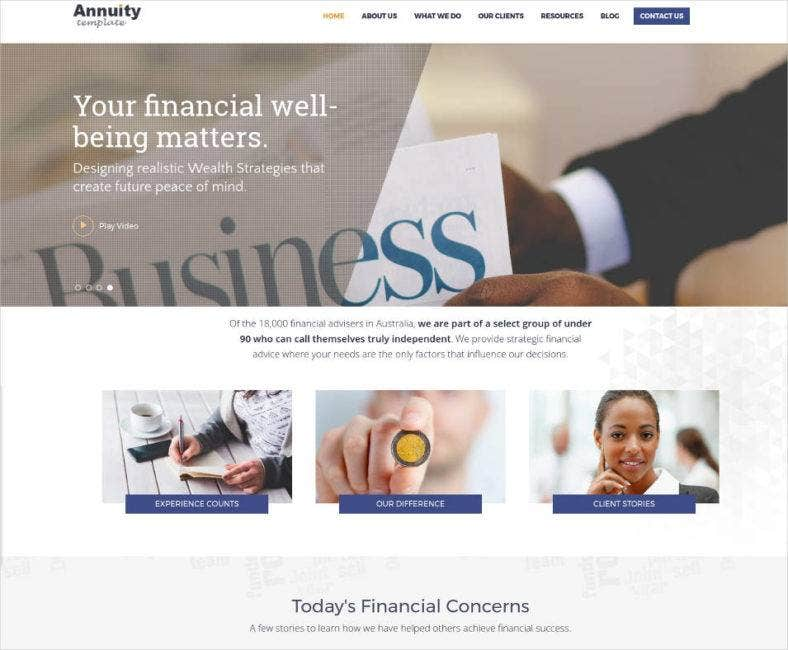 financial advisory consulting theme 788x650