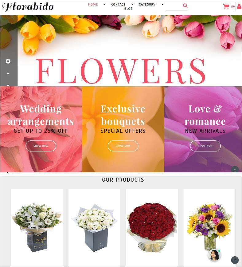 florabido ecommerce website 788x869