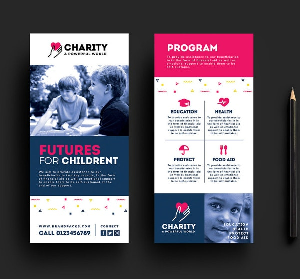 free-charity-rack-card-template