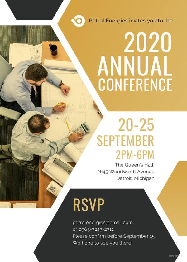 7+ Conference Invitation Designs Free & Premium Templates