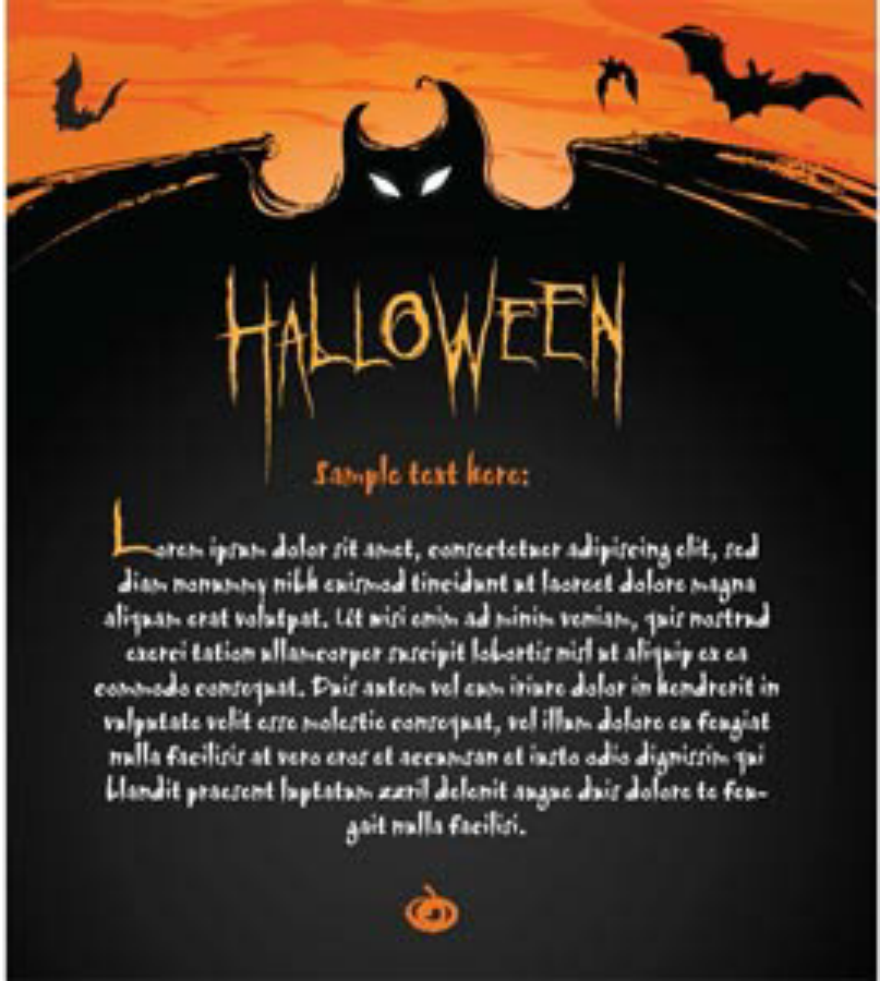 free halloween invitation card