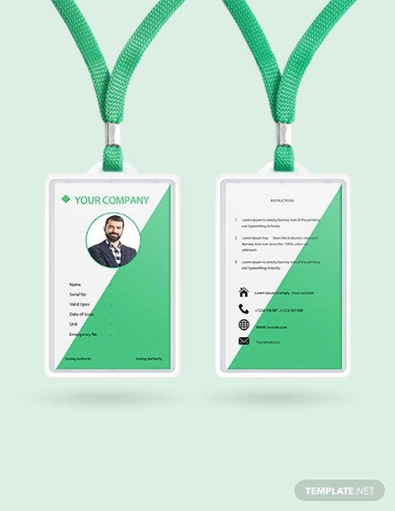 38  id card templates
