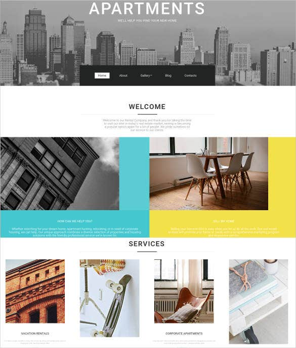 functionality real estate website design
