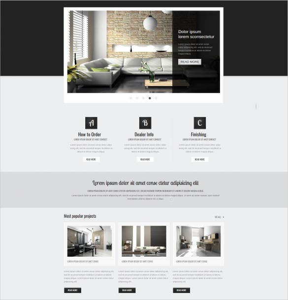 27+ Furniture Website Themes & Templates