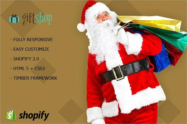 gift shop shopify theme template
