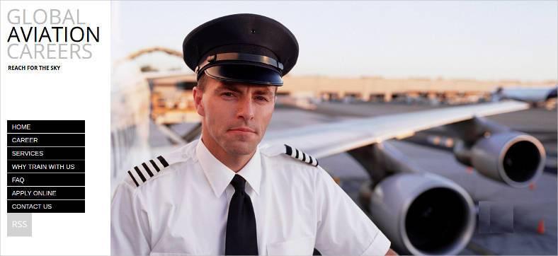 global aviation career website theme 788x362