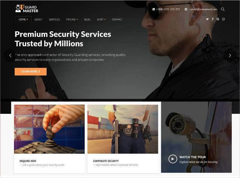 guard master security wordpress theme 788x585