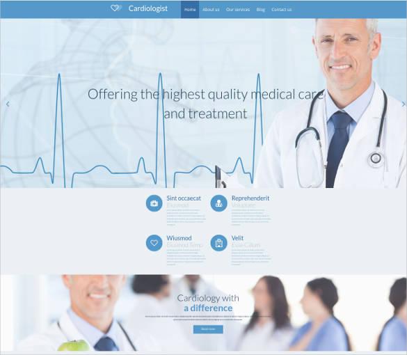 heart doctor medical website