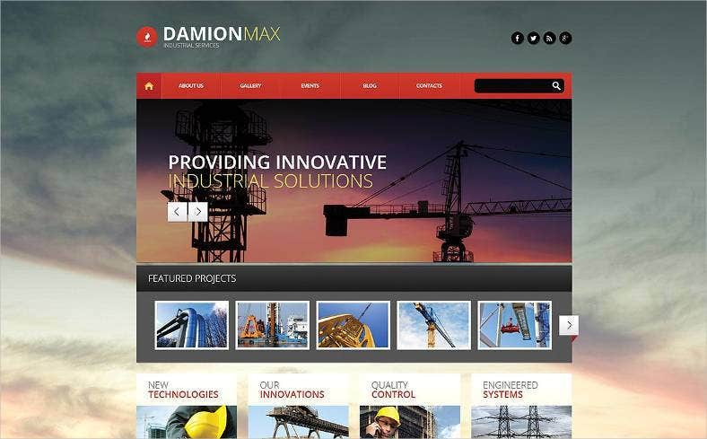 industrial wordpress theme 788x489