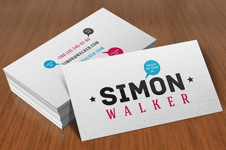 Informal Business Card