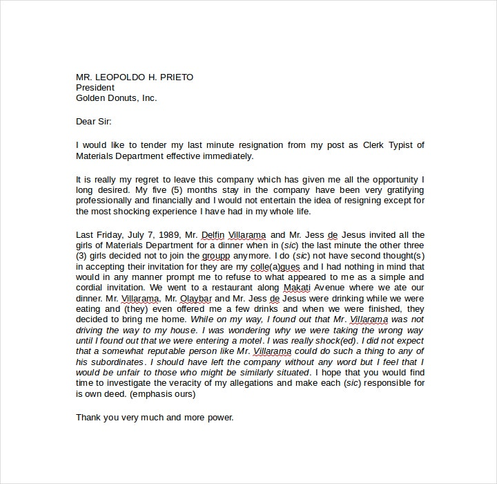 last-minute-formal-resignation-letter