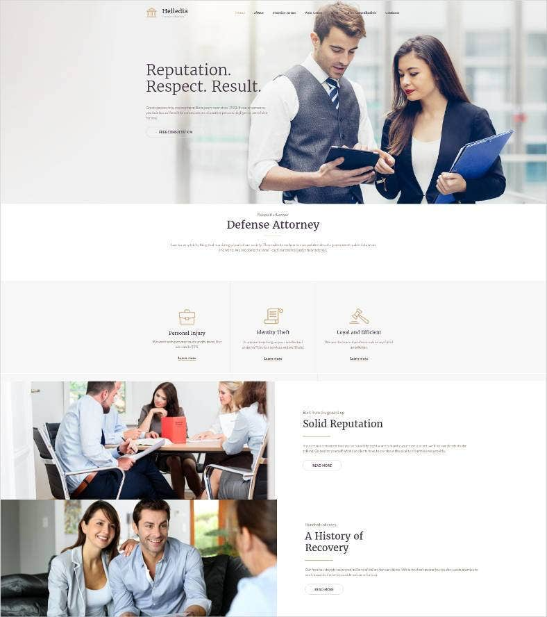 lawyer premium website design 788x888