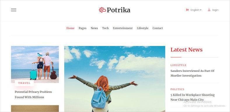 magazine blog website template1 788x385