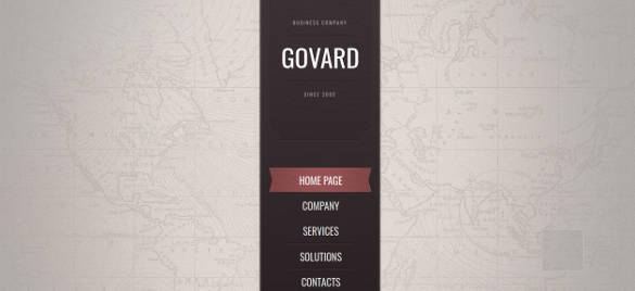 marketing website theme template