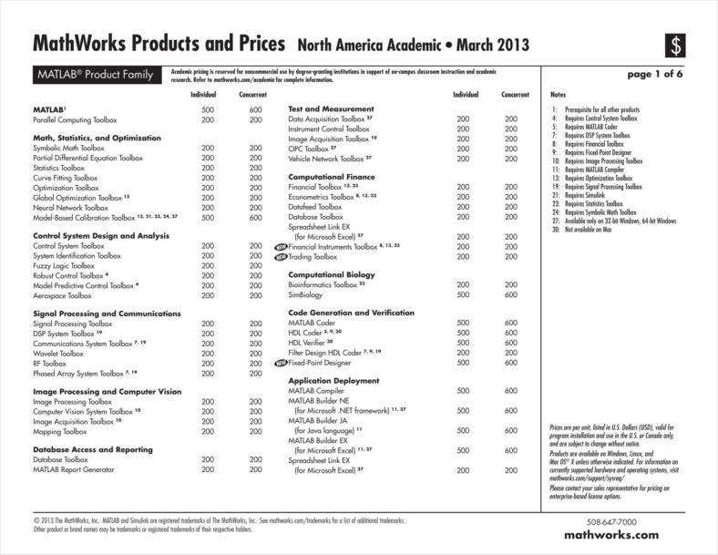 matlab price list 11 788x609