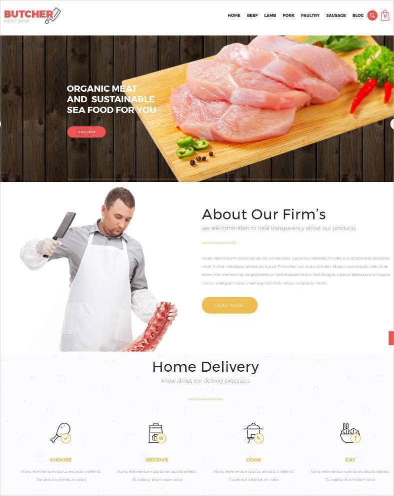 meat shop ecommerce opencart theme 788x990