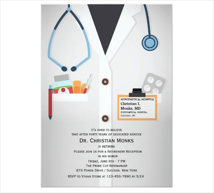 Medical Staff Invitation Template