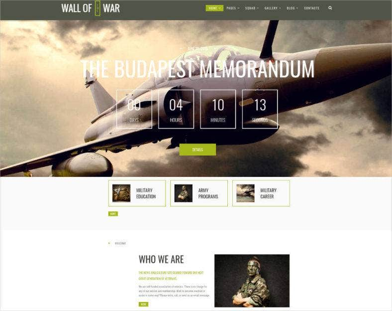 military service wp theme 788x624
