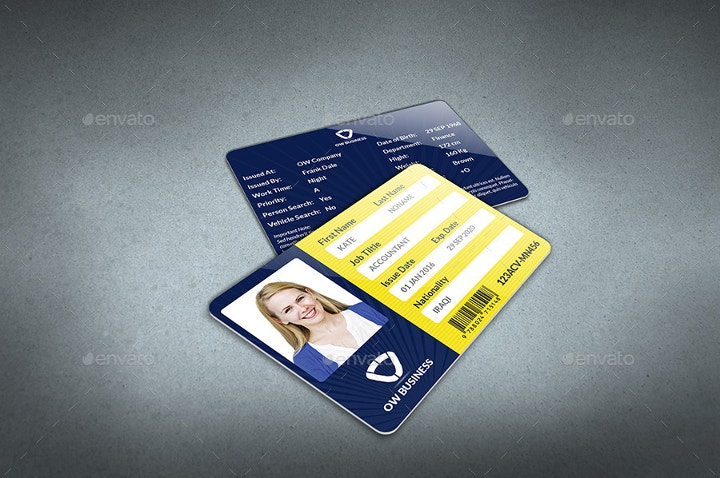 multipurpose id card design