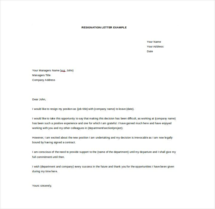 Resign Letter For Worker from images.template.net
