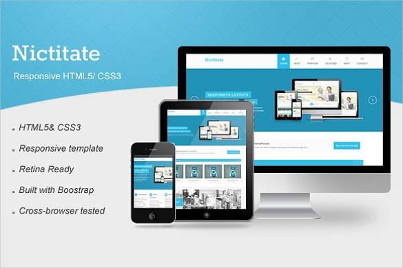 40+ Responsive HTML5 Website Themes & Templates | Free & Premium ...