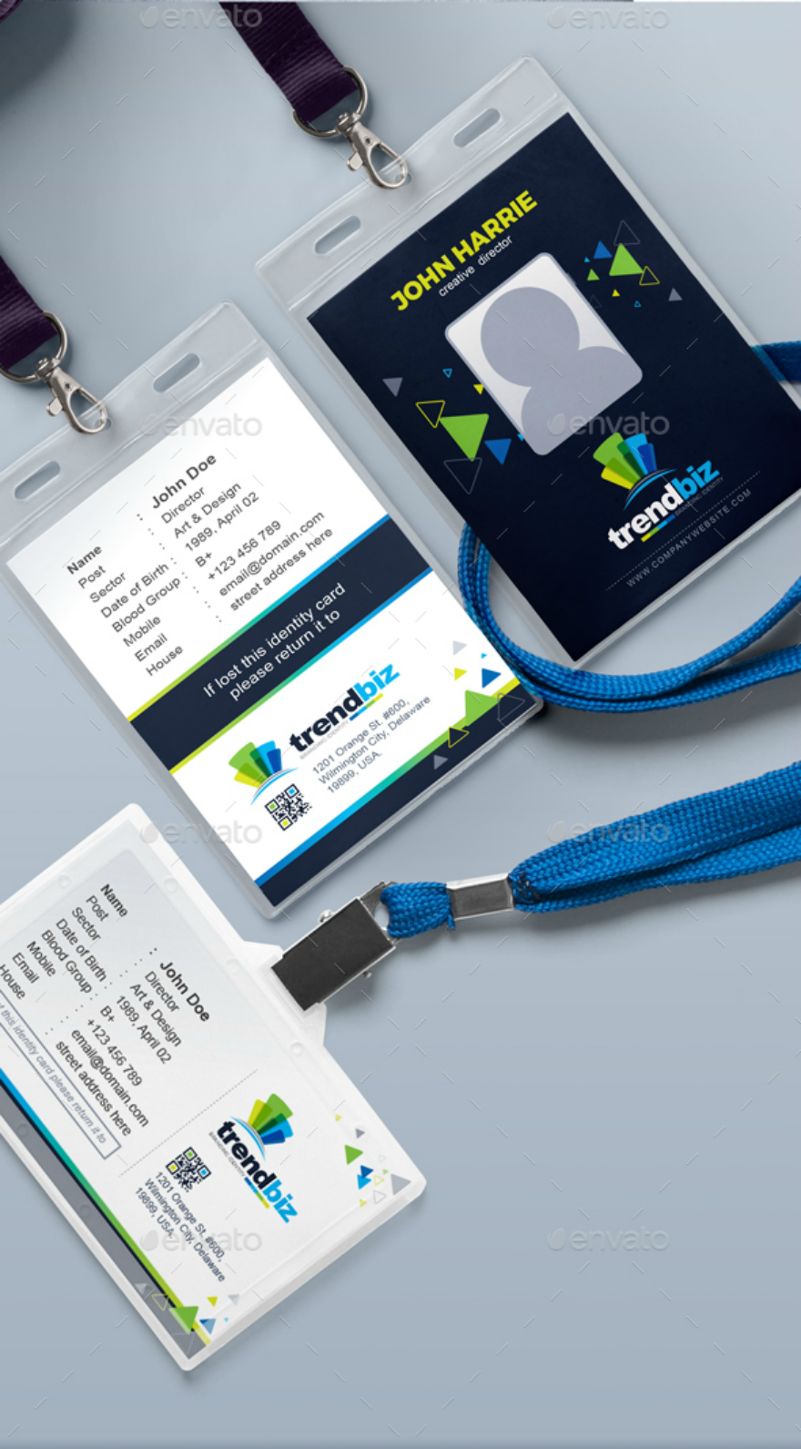 office-id-card-design