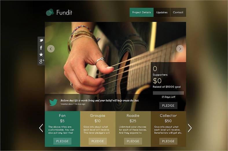onepage crowdfunding theme 788x524