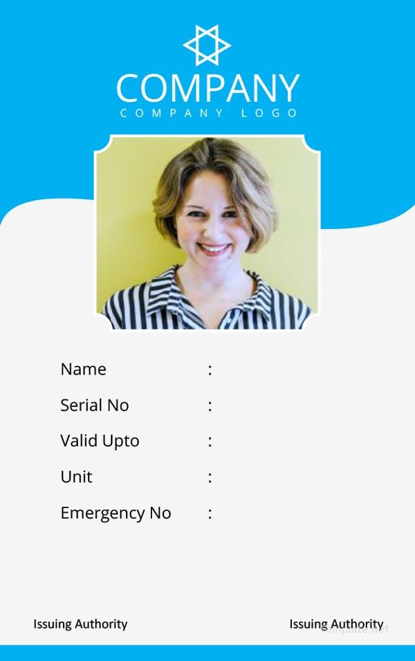 34  professional id card designs