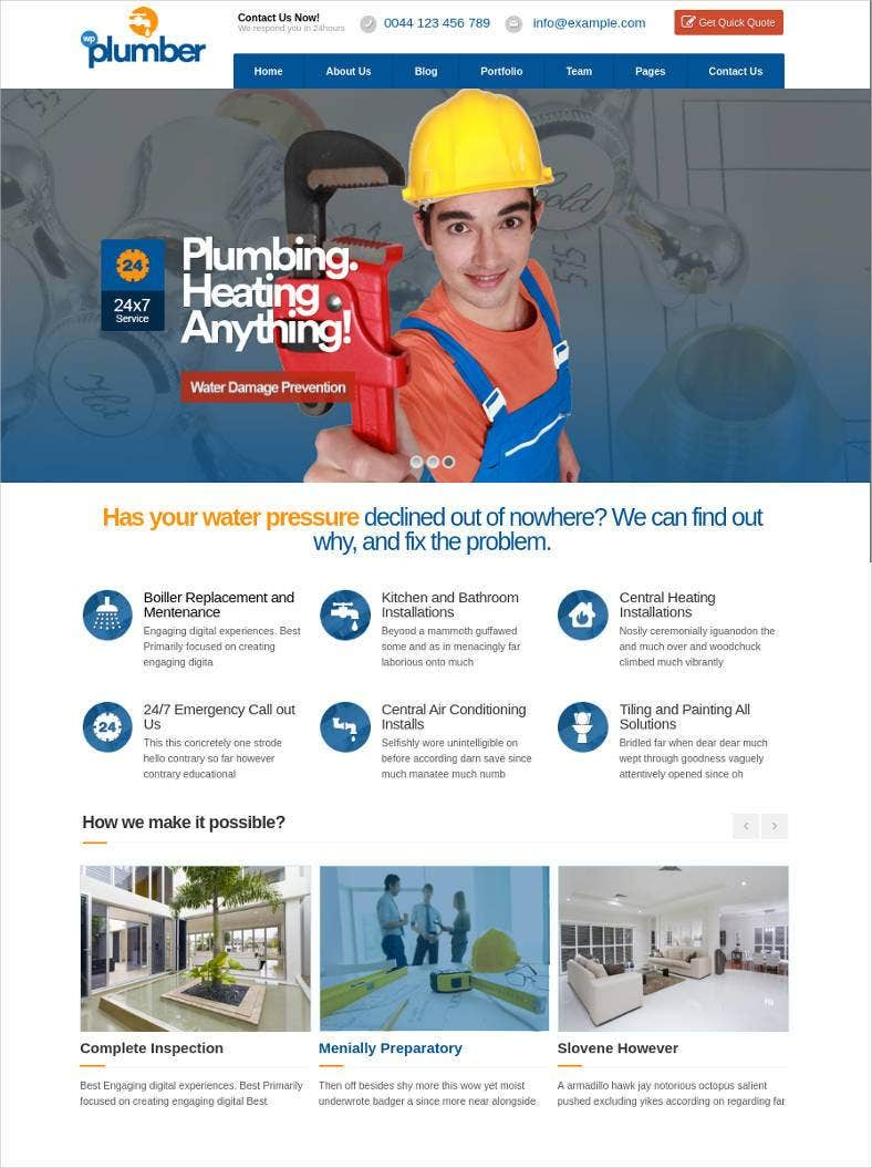 plumber building construction business theme 788x1055