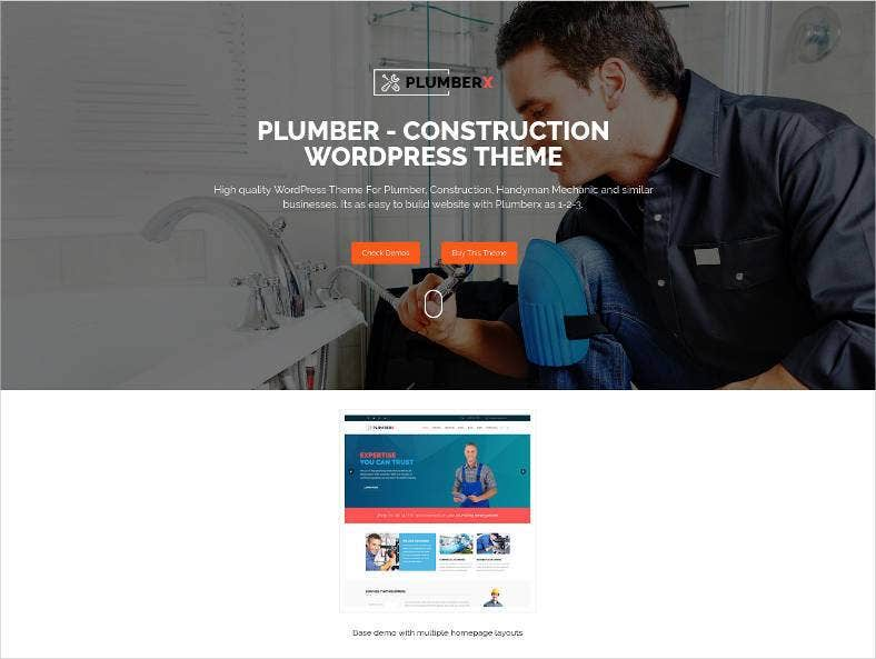 plumber construction and repairing wp theme 788x593