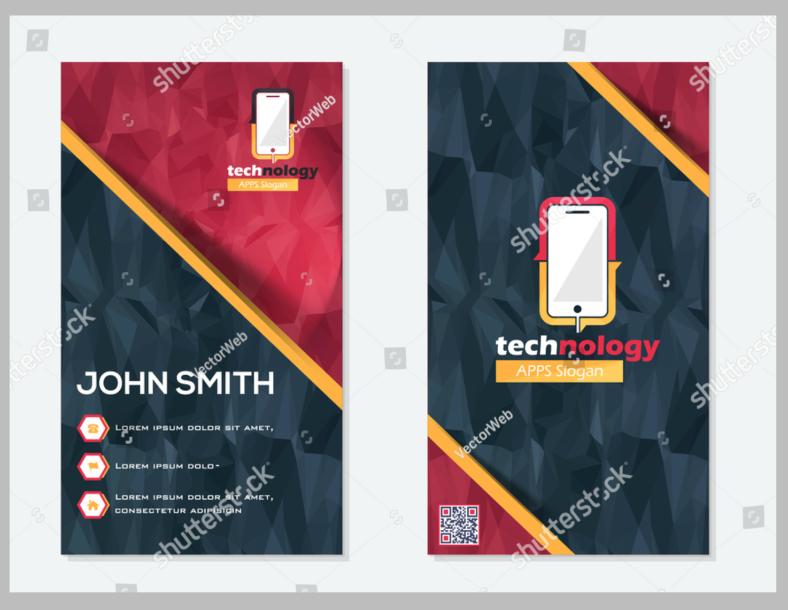 polygonal-personal-card-design