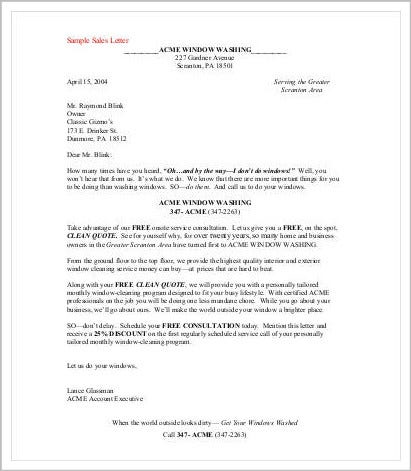 professional-sales-letter