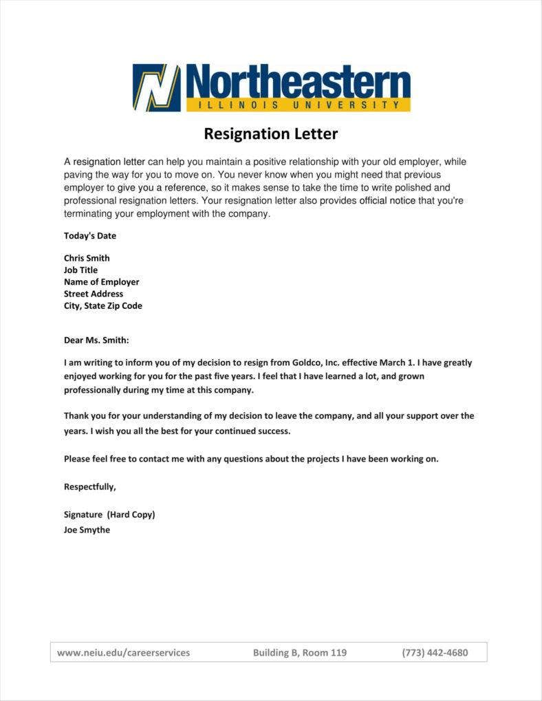 Rn resignation letter sample nursing application cover letters simple resign letter templates free word pdf excel format spiritdancerdesigns Images