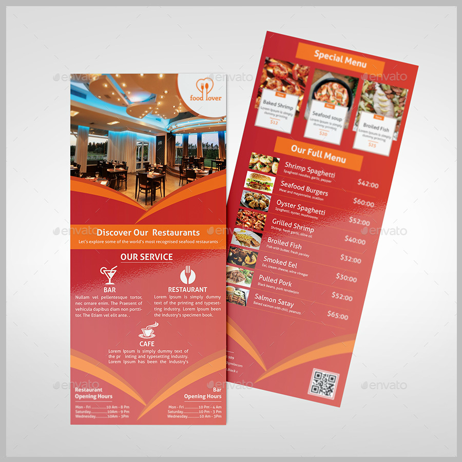 restaurant-rack-card-template