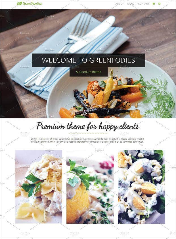 restaurant theme website1