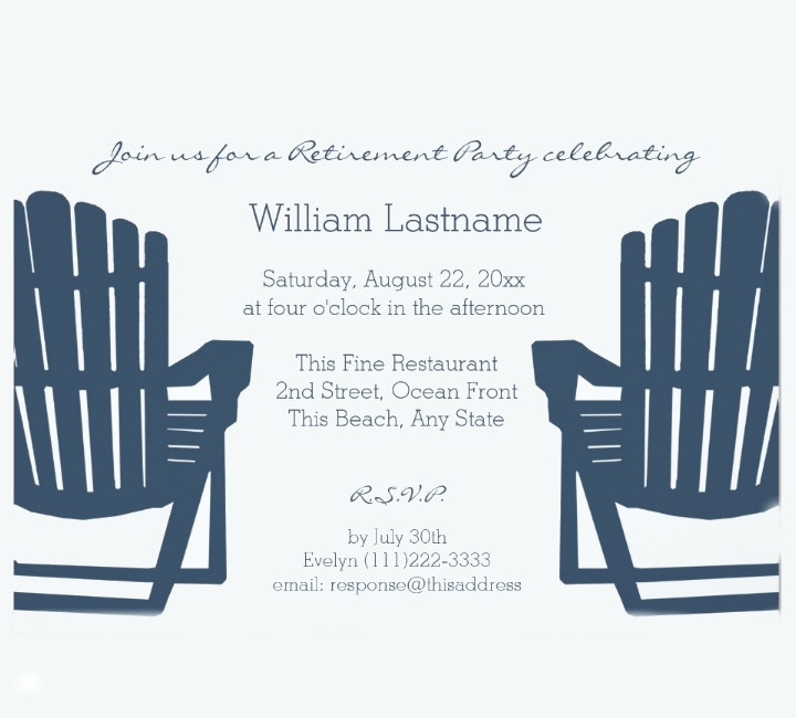 Retirement Celebration Invitation