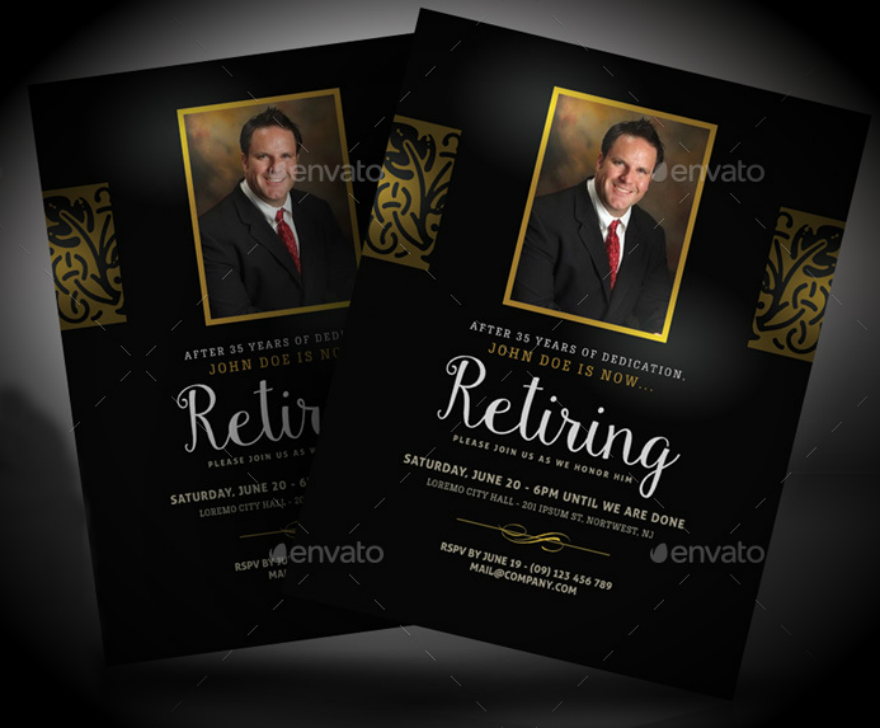 retirement-farewell-invitation-design-template