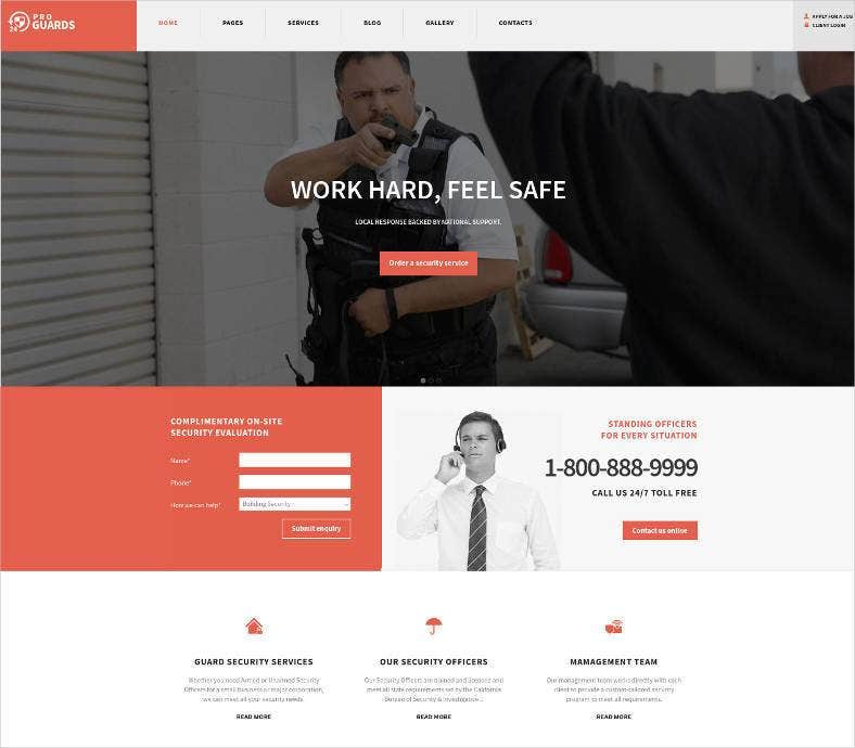 safety security wordpress theme 788x690